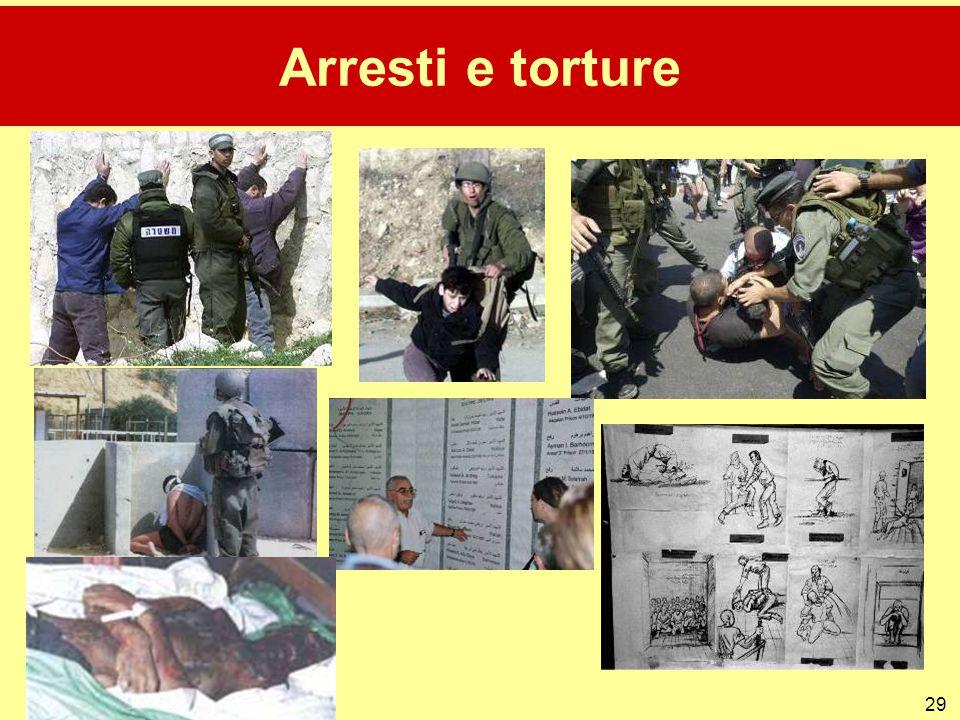 Arresti e torture