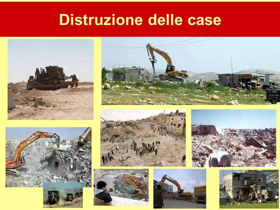 Distruzione delle case