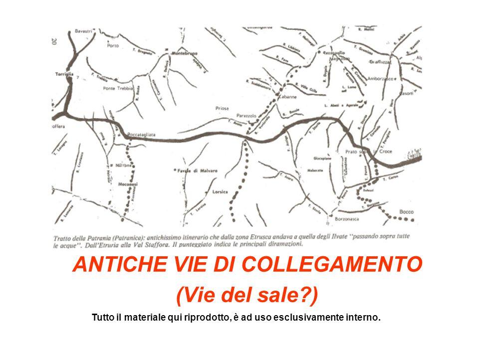 ANTICHE VIE DI COLLEGAMENTO (Vie del sale )
