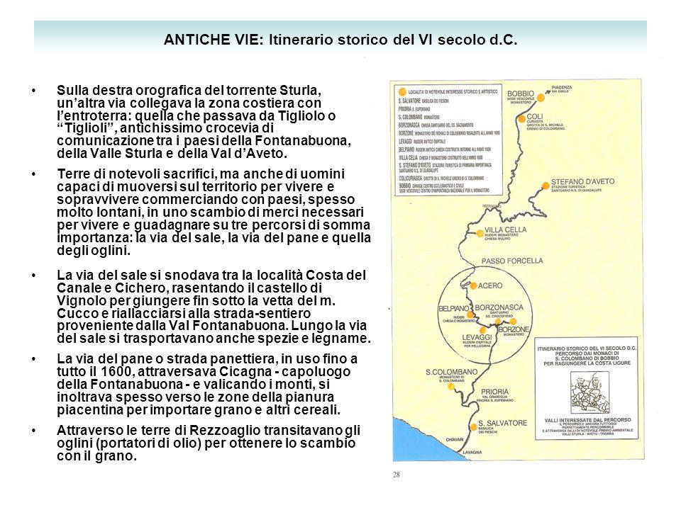 ANTICHE VIE: Itinerario storico del VI secolo d.C.