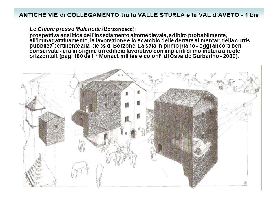 ANTICHE VIE di COLLEGAMENTO tra la VALLE STURLA e la VAL d'AVETO - 1 bis