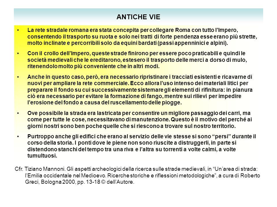 ANTICHE VIE