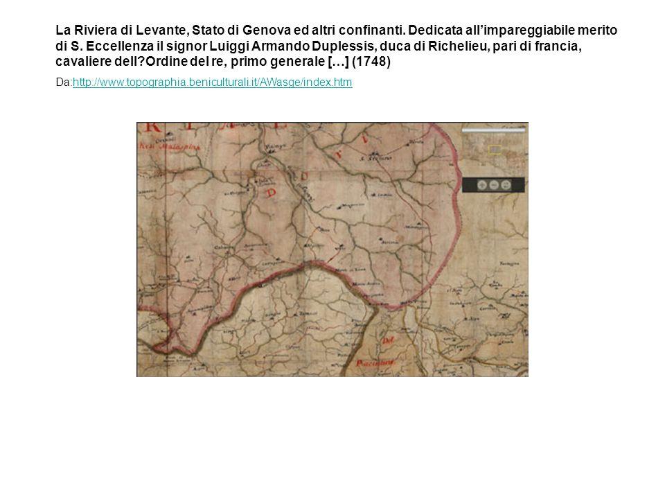 La Riviera di Levante, Stato di Genova ed altri confinanti