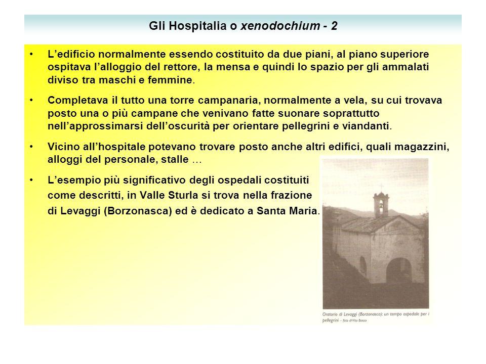 Gli Hospitalia o xenodochium - 2
