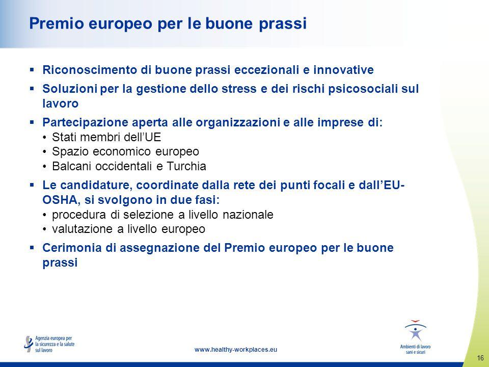 Premio europeo per le buone prassi