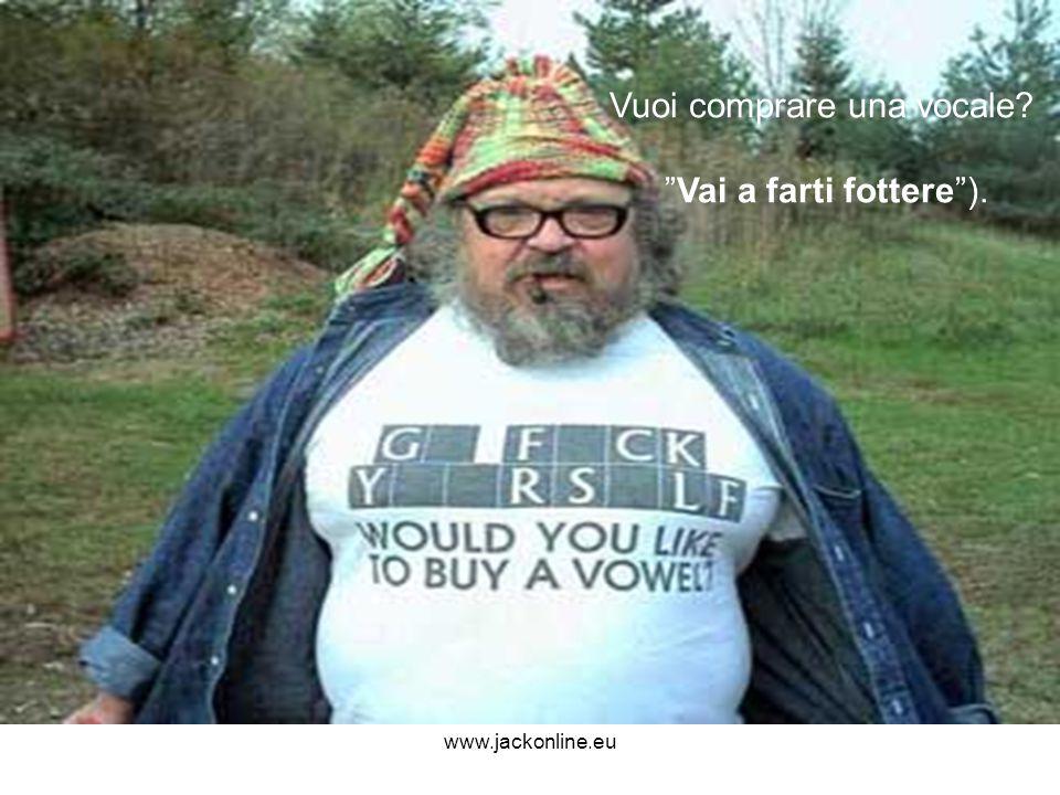 Vuoi comprare una vocale