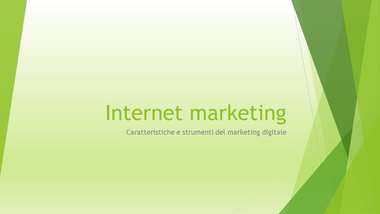 Caratteristiche e strumenti del marketing digitale