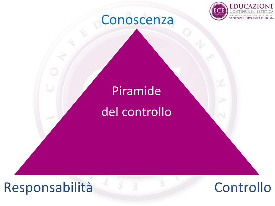 Conoscenza Piramide del controllo Responsabilità Controllo