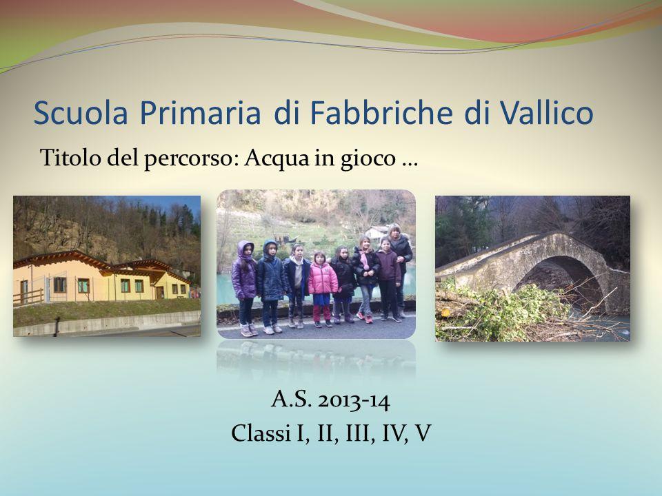 Scuola Primaria di Fabbriche di Vallico