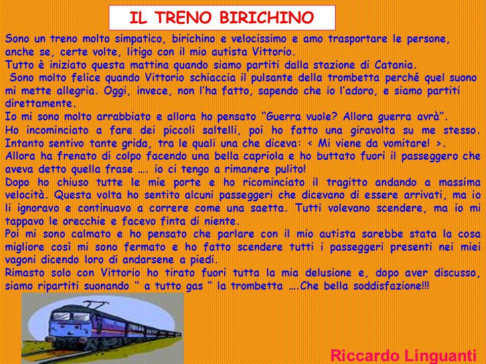 IL TRENO BIRICHINO Riccardo Linguanti