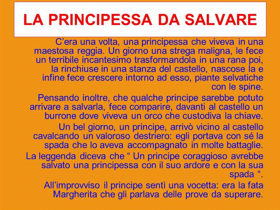 LA PRINCIPESSA DA SALVARE