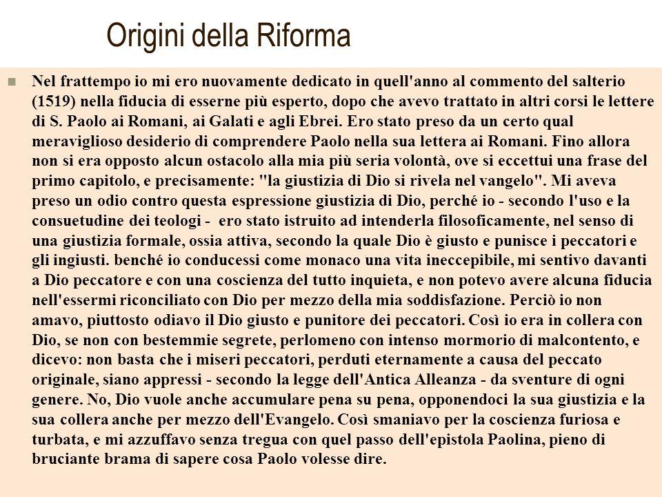 Origini della Riforma