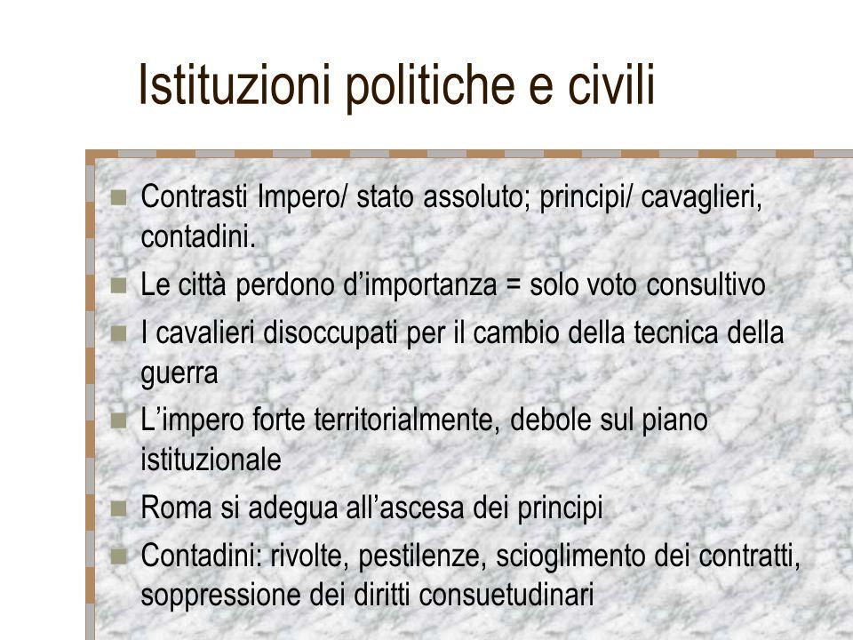 Istituzioni politiche e civili