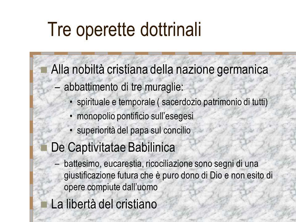 Tre operette dottrinali