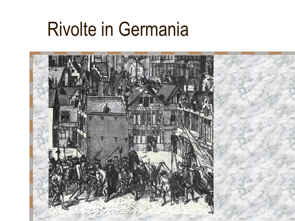 Rivolte in Germania