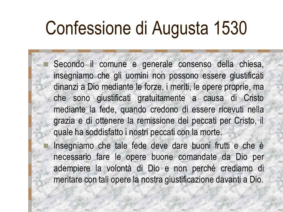 Confessione di Augusta 1530
