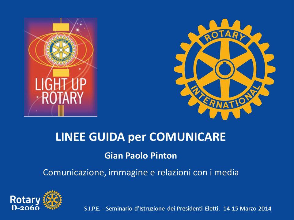LINEE GUIDA per COMUNICARE