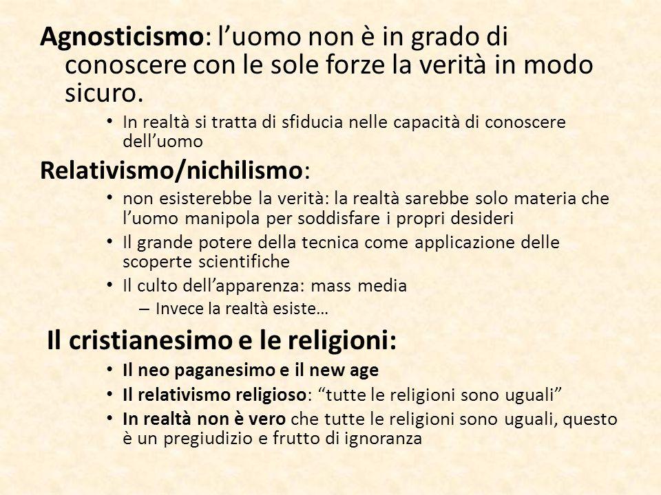 Il cristianesimo e le religioni: