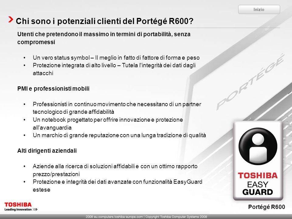 Chi sono i potenziali clienti del Portégé R600