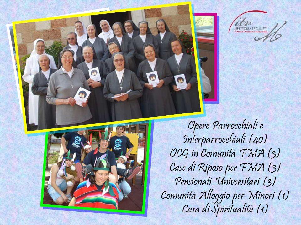 Opere Parrocchiali e Interparrocchiali (40) OCG in Comunità FMA (3)