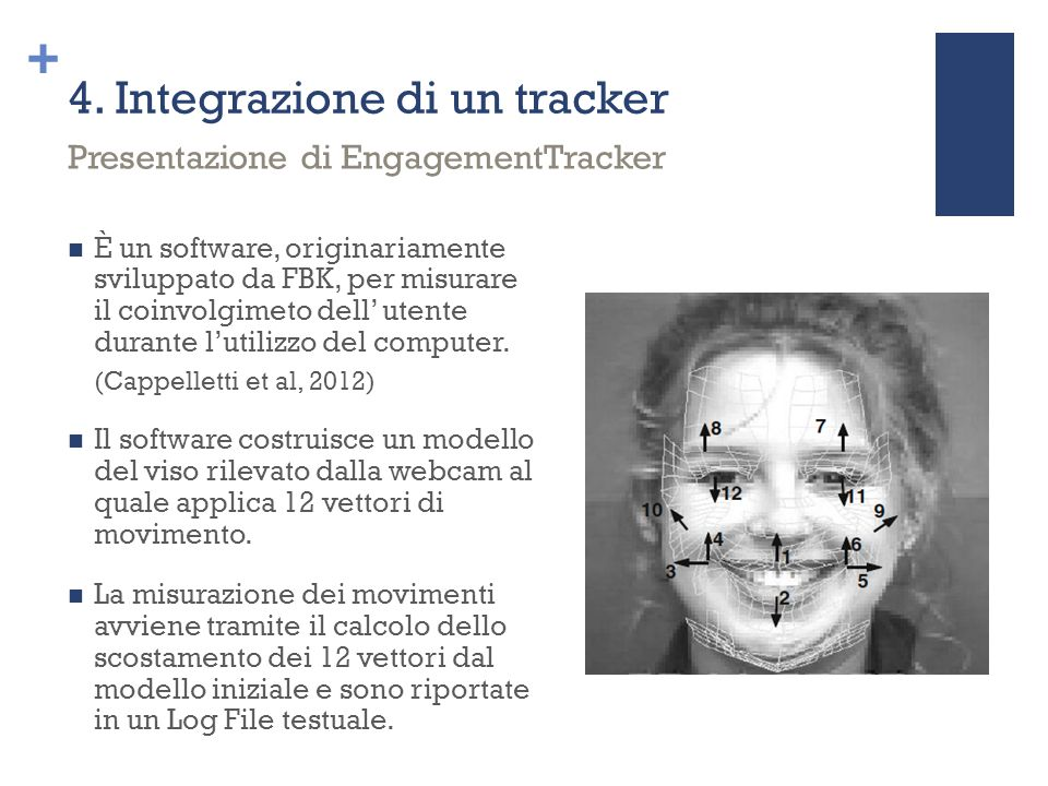 4. Integrazione di un tracker