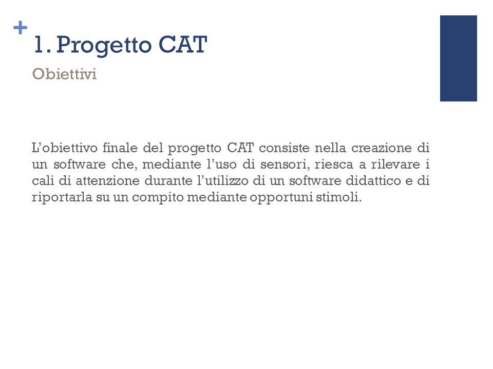 1. Progetto CAT Obiettivi