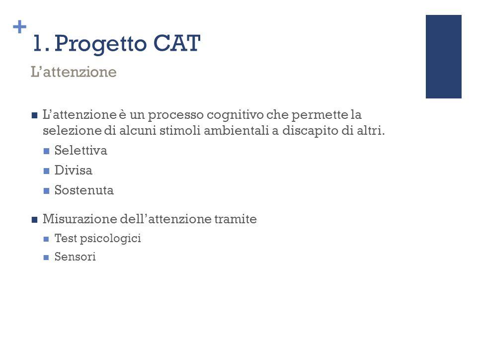 1. Progetto CAT L'attenzione