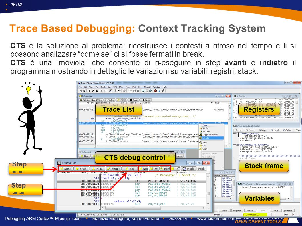 Trace Based Debugging: Context Tracking System
