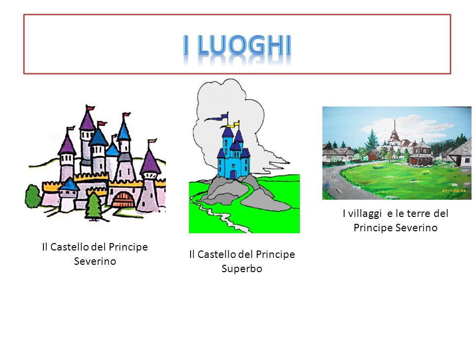 I Luoghi I villaggi e le terre del Principe Severino