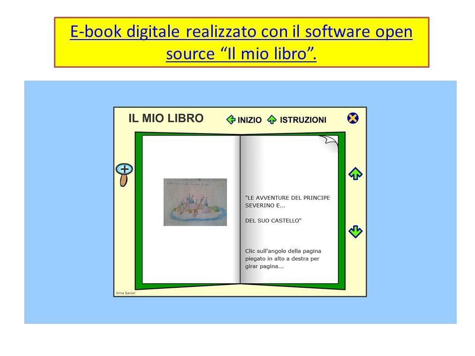 E-book digitale realizzato con il software open source Il mio libro .