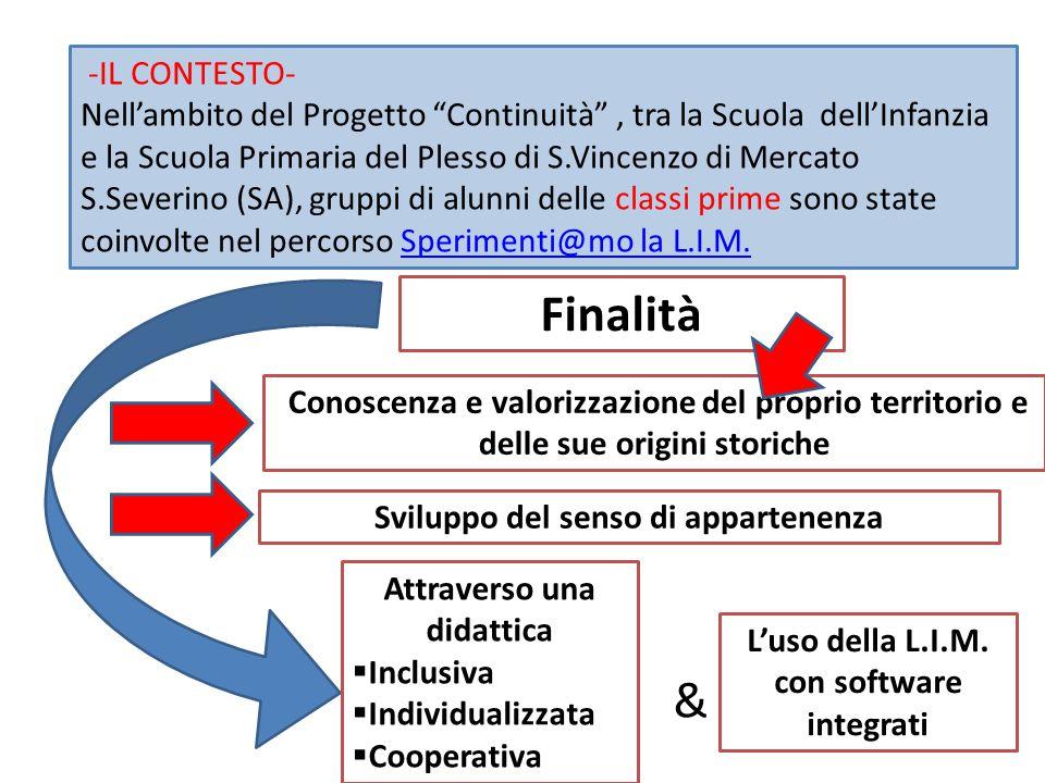 Finalità & -IL CONTESTO-
