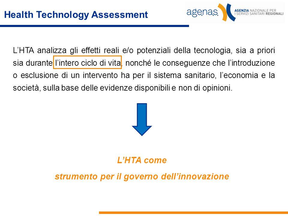 strumento per il governo dell'innovazione