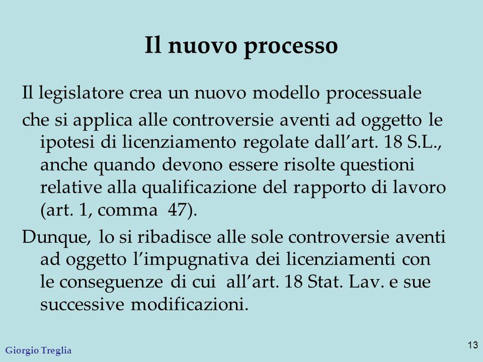 Il nuovo processo