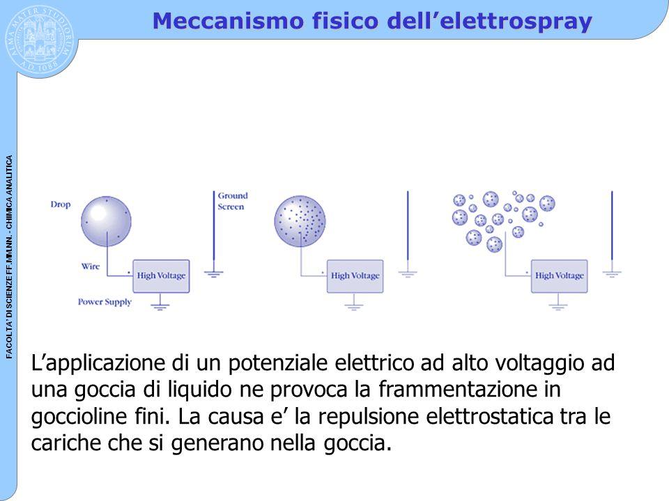 Meccanismo fisico dell'elettrospray
