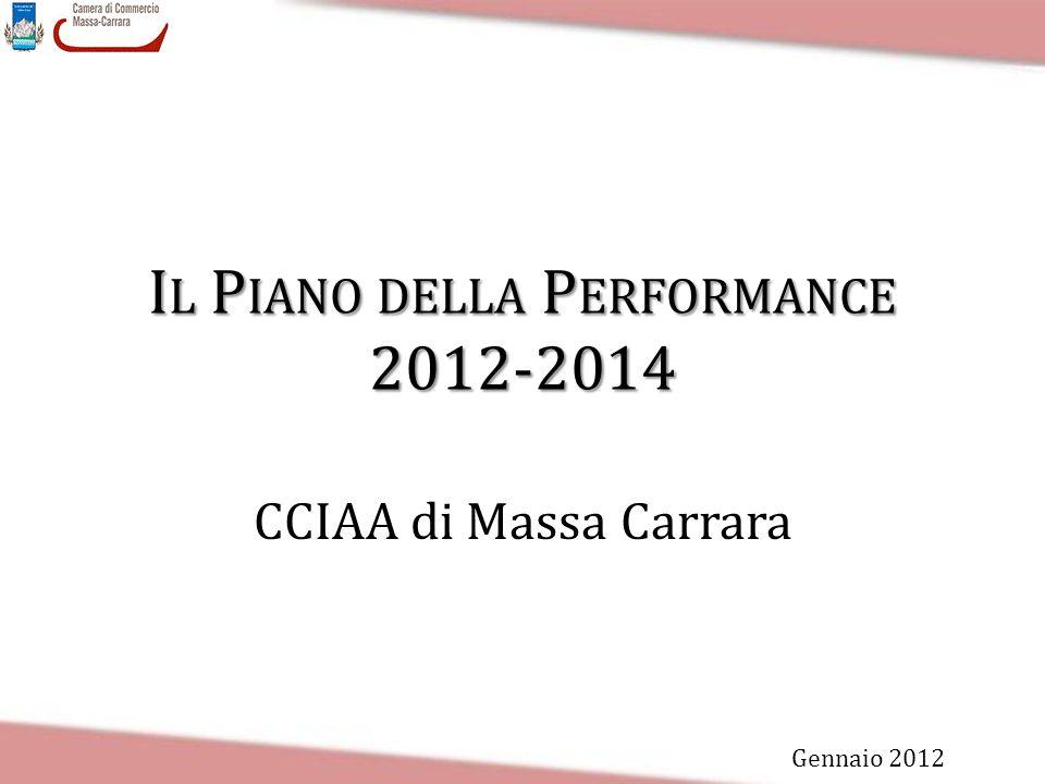 Il Piano della Performance 2012-2014