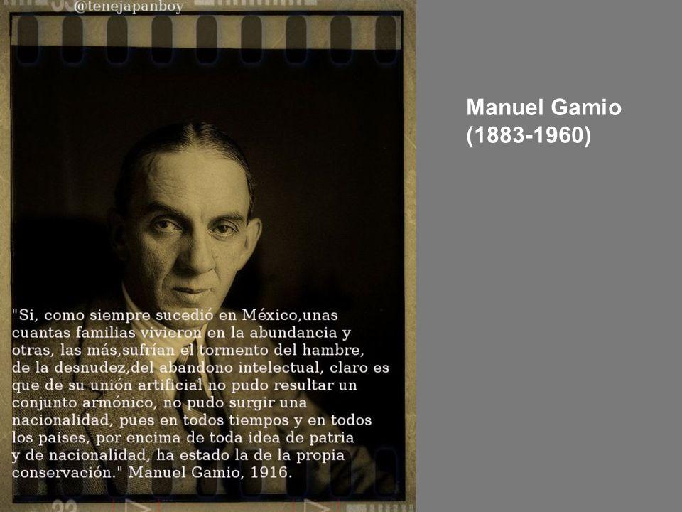 Manuel Gamio (1883-1960)