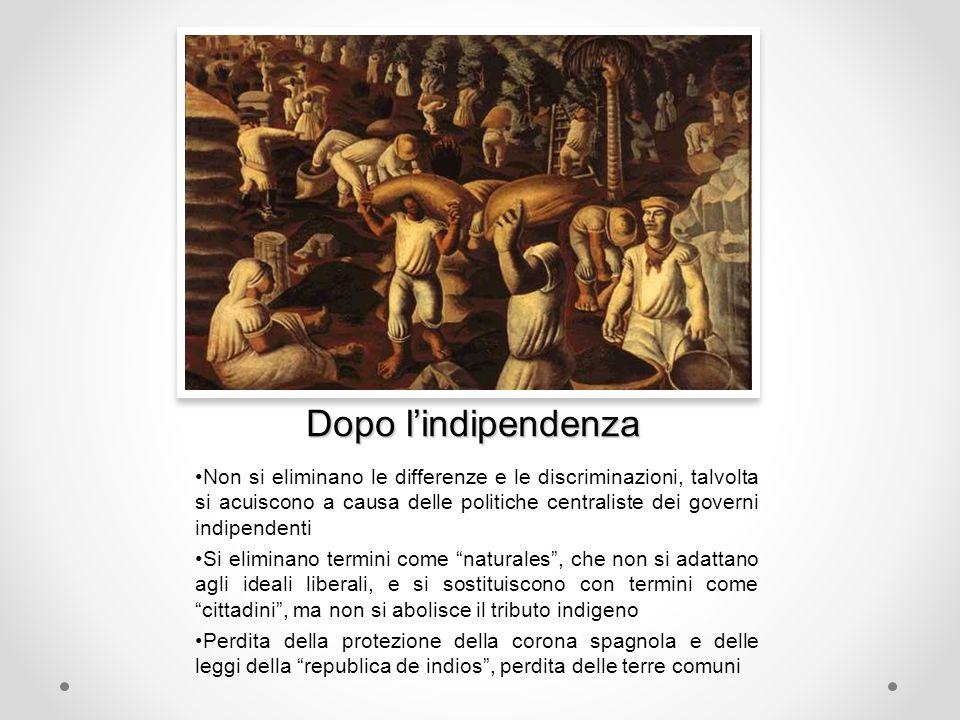 Dopo l'indipendenza