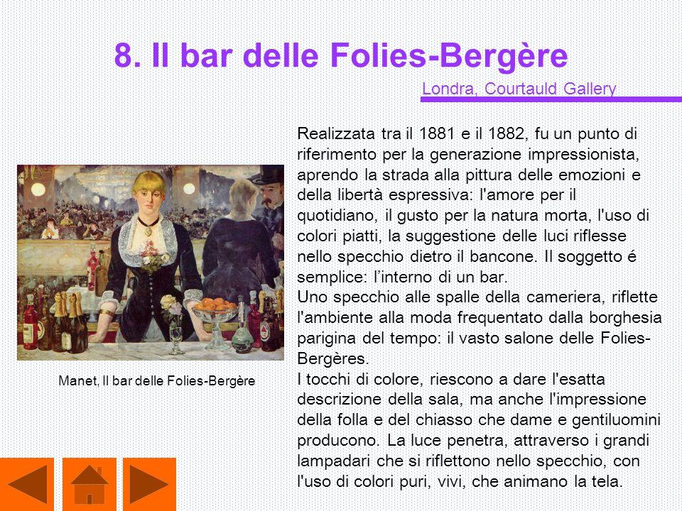 8. Il bar delle Folies-Bergère