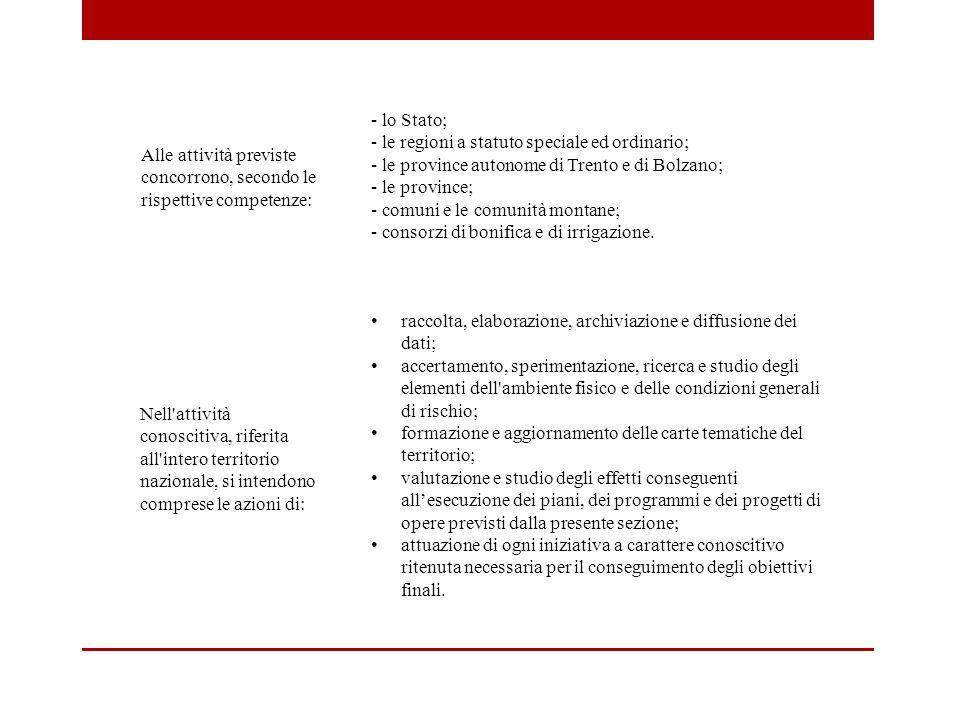 - lo Stato; - le regioni a statuto speciale ed ordinario; - le province autonome di Trento e di Bolzano;