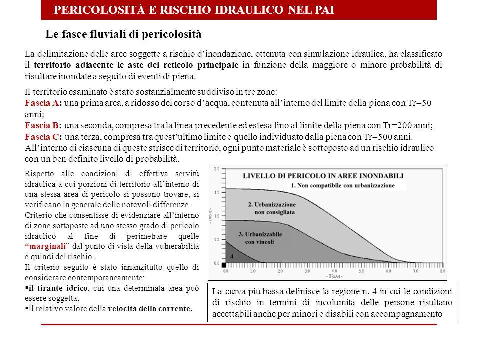 PERICOLOSITÀ E RISCHIO IDRAULICO NEL PAI