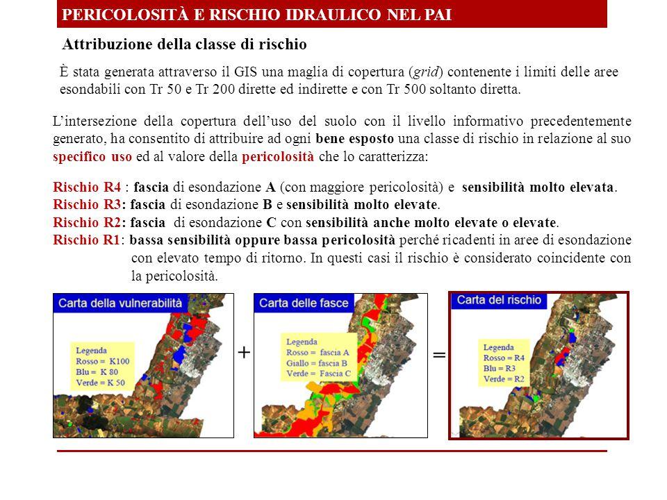 + = PERICOLOSITÀ E RISCHIO IDRAULICO NEL PAI