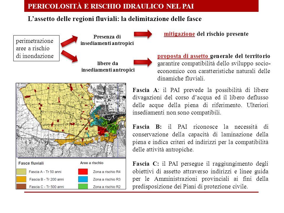 Presenza di insediamenti antropici insediamenti antropici
