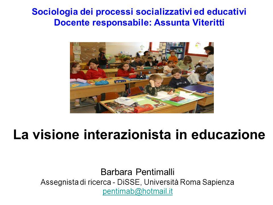 Assegnista di ricerca - DiSSE, Università Roma Sapienza