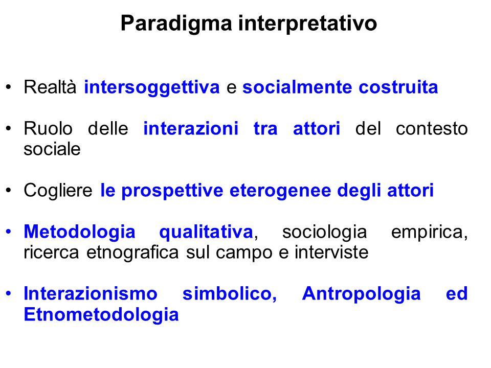 Paradigma interpretativo