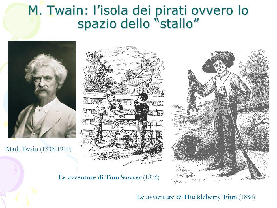 M. Twain: l'isola dei pirati ovvero lo spazio dello stallo