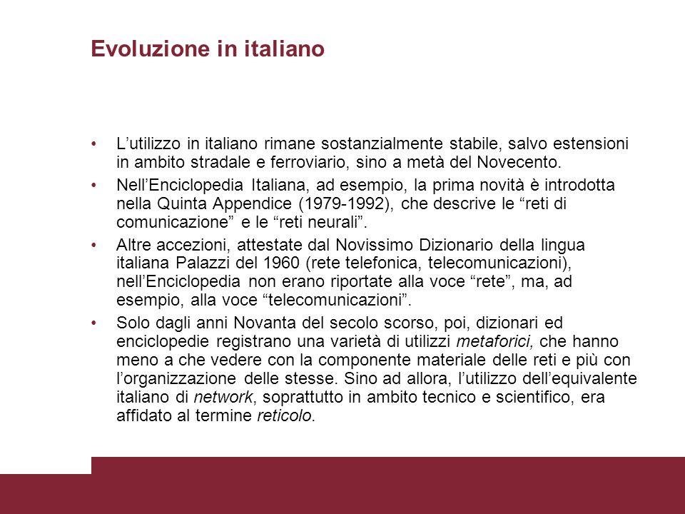 Evoluzione in italiano