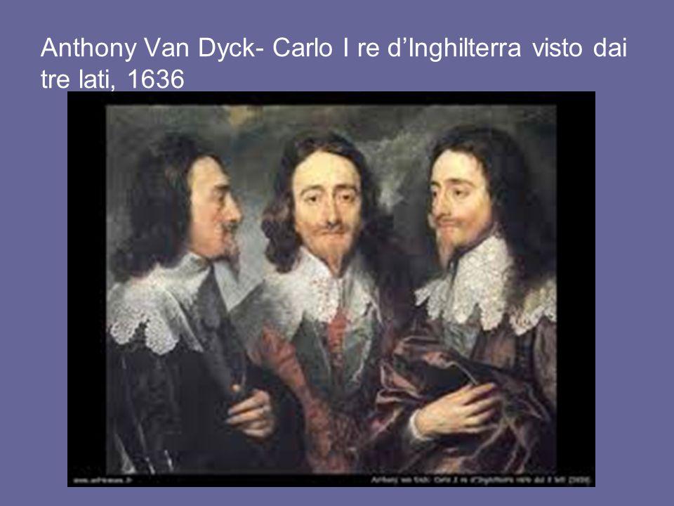 Anthony Van Dyck- Carlo I re d'Inghilterra visto dai tre lati, 1636