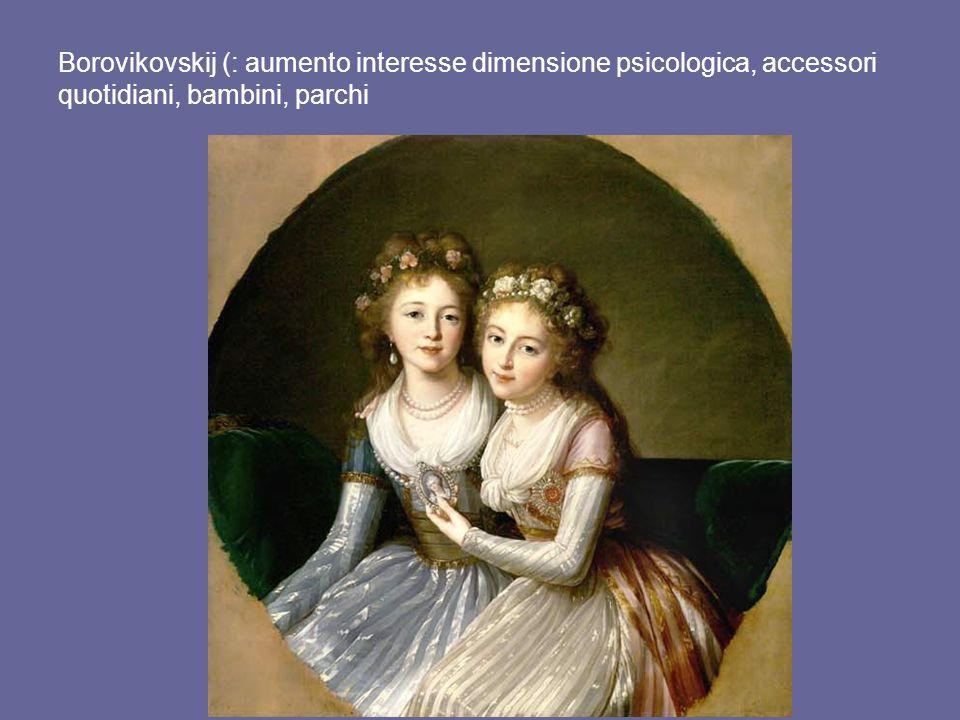 Borovikovskij (: aumento interesse dimensione psicologica, accessori quotidiani, bambini, parchi