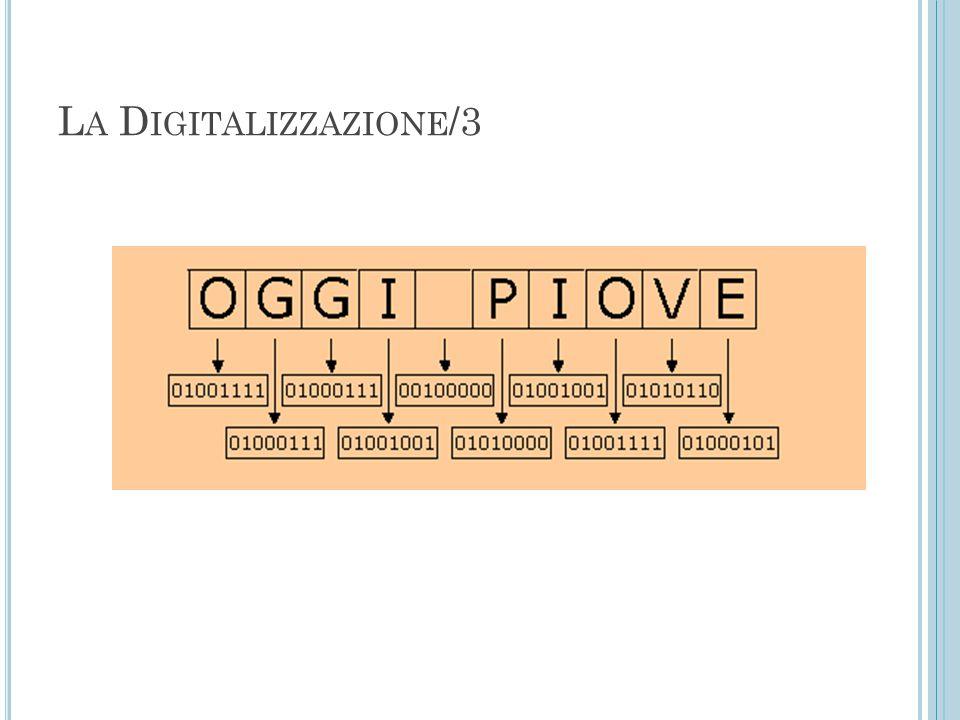 La Digitalizzazione/3