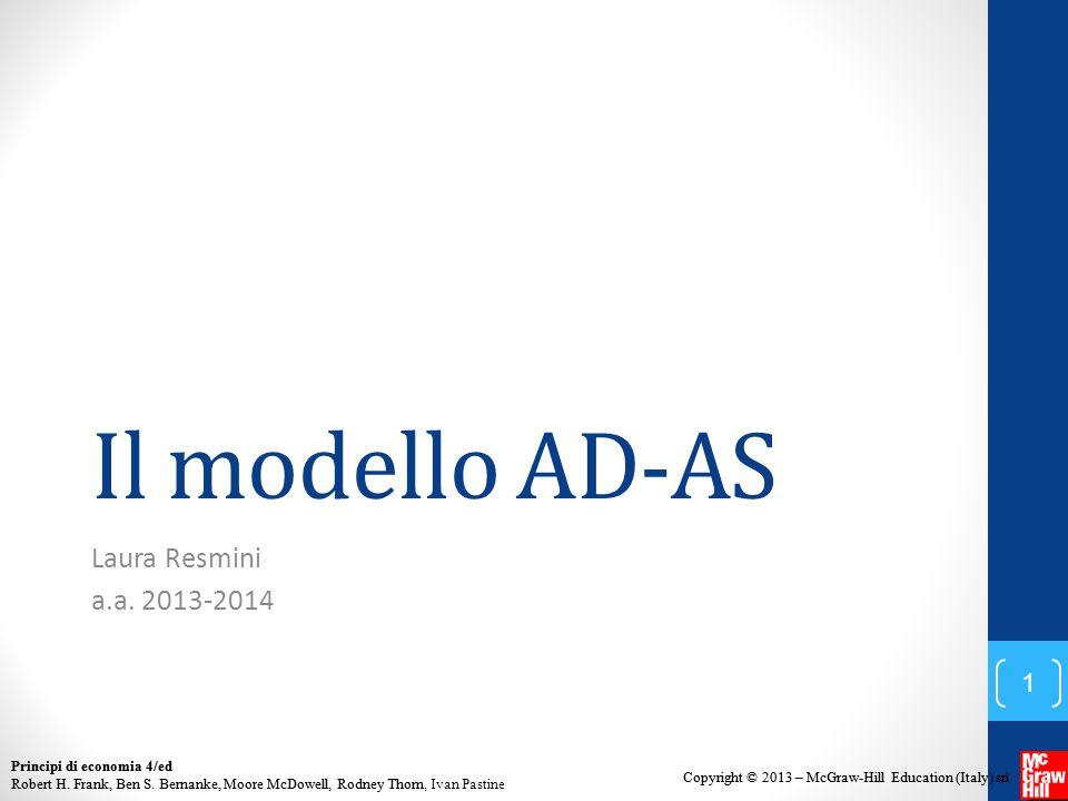 Il modello AD-AS Laura Resmini a.a. 2013-2014